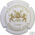 Champagne capsule 12.e Blanc et or