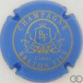 Champagne capsule 10.c Bleu ciel et or