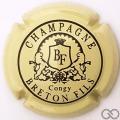 Champagne capsule 10.h Jaune-crème et noir