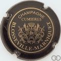 Champagne capsule 1.a Noir, cercle épais