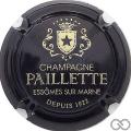 Champagne capsule 9.b Noir et or, étoile noire