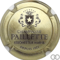 Champagne capsule 9.a Or et noir