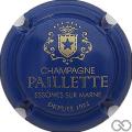 Champagne capsule 8 Bleu et or