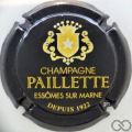 Champagne capsule 7 Noir et or