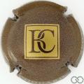 Champagne capsule 1.e Marron et or