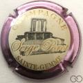 Champagne capsule 1.d Contour rosé-violacé