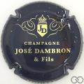 Champagne capsule 1 Bleu-noir et or