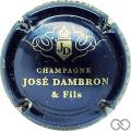 Champagne capsule 6.a Bleu nuit et or pâle