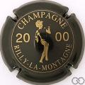 Champagne capsule 70 2000 Noir et or