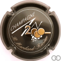 Champagne capsule 614 An 2000, n° 614, noir, écriture or