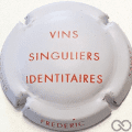Champagne capsule 1.a Blanc mat et rouge