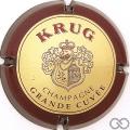 Champagne capsule 51.a Nabu, or, contour bordeaux