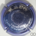Champagne capsule  Clos d'Ambonnay 2002 32mm