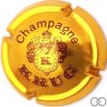 Champagne capsule 34 Or-bronze et marron