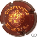 Champagne capsule 32 Bordeaux et or