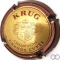 Champagne capsule 49 Grande cuvée, contour marron