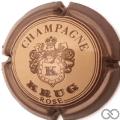 Champagne capsule 41 Rosé, marron clair
