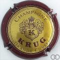 Champagne capsule 38.ab Grande cuvée, bordeaux, 32 mm texte petit
