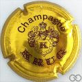 Champagne capsule 33.a Or et marron, 32 mm