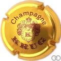 Champagne capsule 33 Or et marron