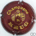 Champagne capsule 35.a Marron et or, 32 mm