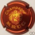 Champagne capsule 36 Bordeaux et or