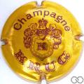 Champagne capsule 31 Or et marron