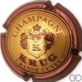 Champagne capsule 38 Grande cuvée, bordeaux