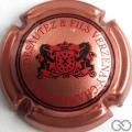 Champagne capsule 7.c Fond rosé