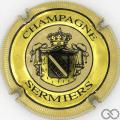 Champagne capsule 2 Contour crème, striée