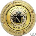 Champagne capsule 10 Contour or, striée