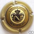 Champagne capsule 14 Contour crème, striée