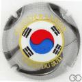 Champagne capsule 5 Corée du Sud