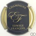 Champagne capsule 3 Fond or foncé