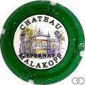 Champagne capsule A1.b Contour vert, nabuchodonosor