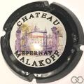 Champagne capsule A1 Contour noir, nabuchodonosor