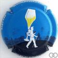 Champagne capsule 69 Fond bleu ciel, 2016