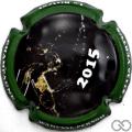 Champagne capsule 3 Contour vert