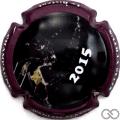 Champagne capsule 2 Contour violet foncé
