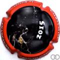 Champagne capsule 1 Contour rouge