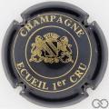Champagne capsule 3 Bleu-noir et or