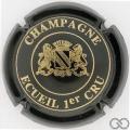 Champagne capsule 4 Vert-noir et or