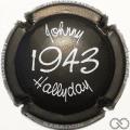 Champagne capsule A8.a Noir et blanc