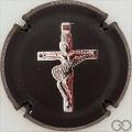 Champagne capsule A5 La croix du rockeur en relief