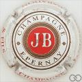Champagne capsule 47.a Fond pailleté, écriture et cercle marron