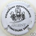 Champagne capsule 22 Médaille d'argent 2006