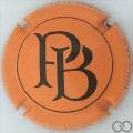 Champagne capsule A1.b Orange et noir