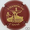 Champagne capsule H4410 Bordeaux et or