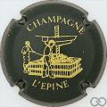 Champagne capsule H4410.d Vert foncé et or