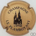 Champagne capsule 1 Or et noir